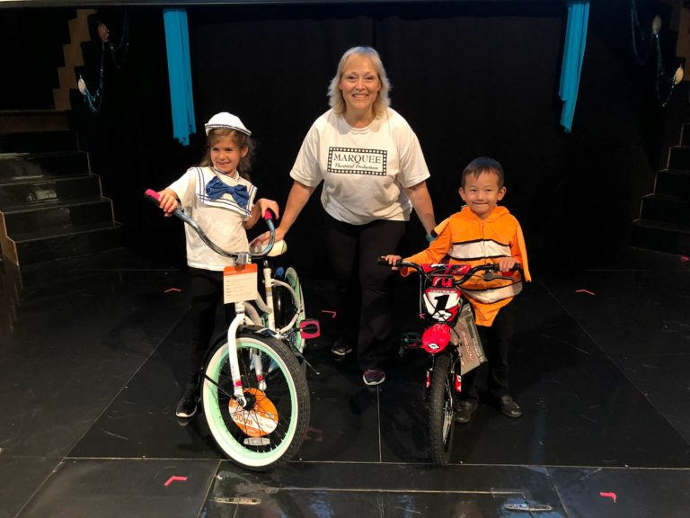 Giving back to our community: bikes for kids