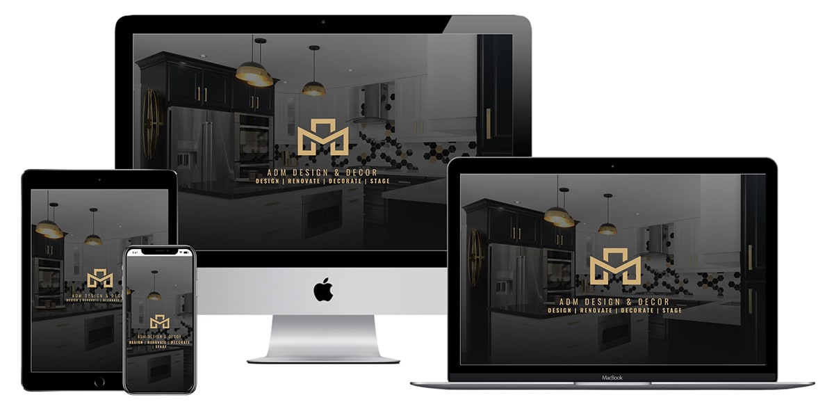 ADM Design & Decor Website