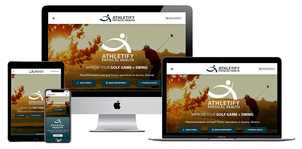 Athletify Website
