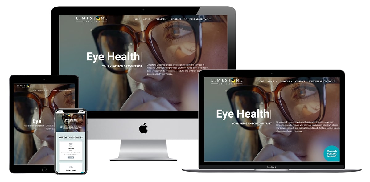Limestone Eyecare Website