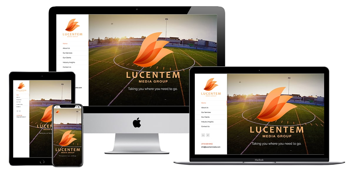 Lucentem Media Website