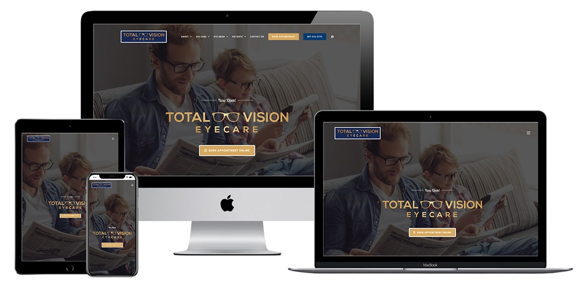 Total Vision Eyecare Website