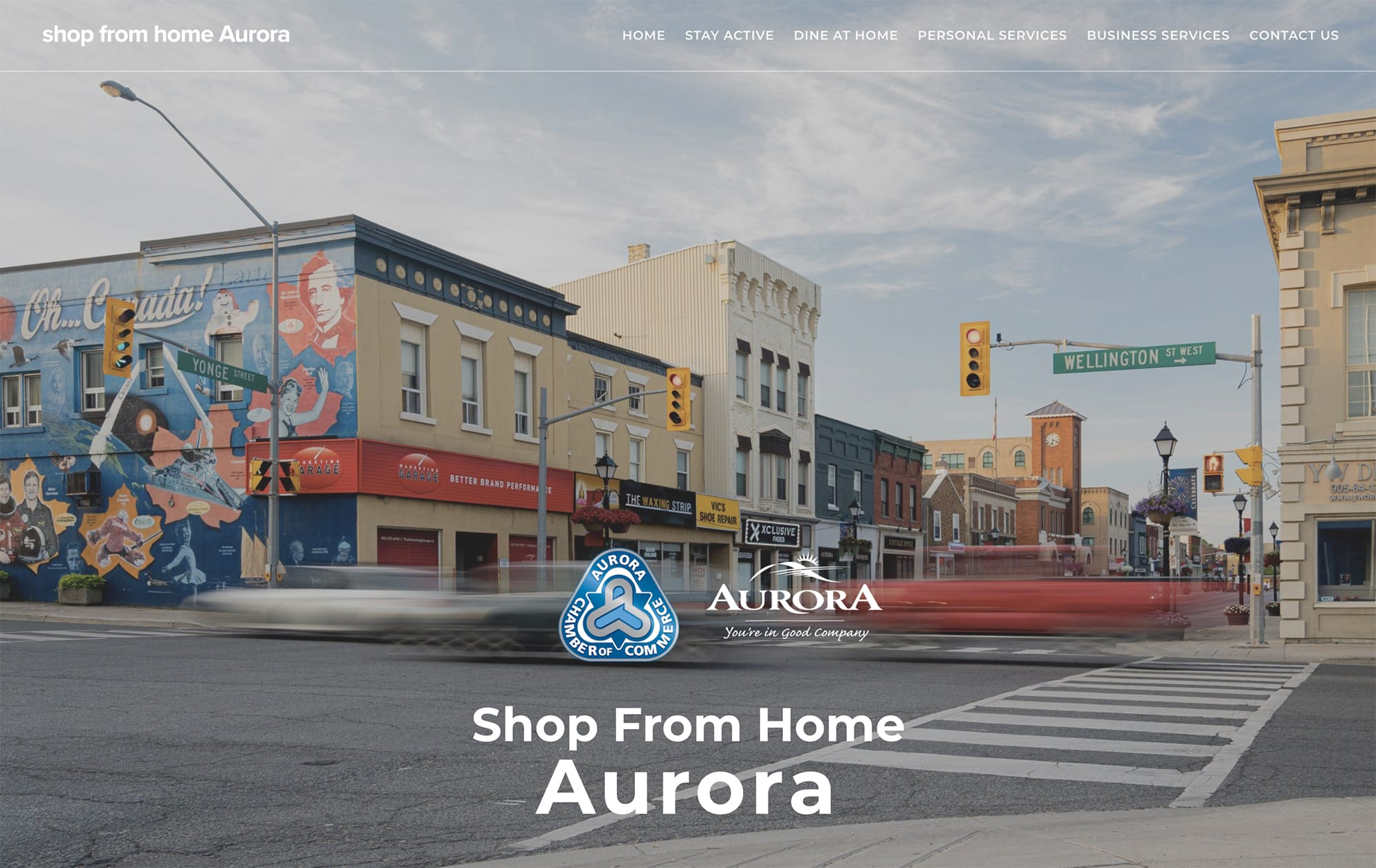 Shop From Home Aurora